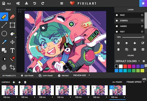 pixilart   art community  pixel art tool