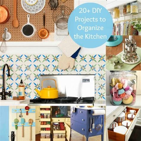 best way to organize kitchen best decor hacks more than 20 diy projects to organize 7809