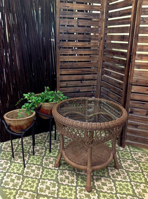 outdoor patio  glass  table warehouse