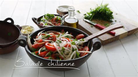 cuisine chilienne salade chilienne cuisine futée parents pressés