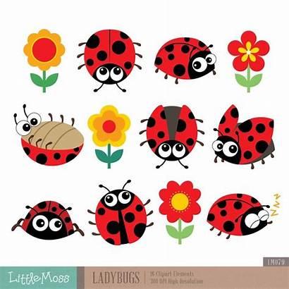 Clipart Ladybug Ladybugs Lady Bugs Tekening Bug