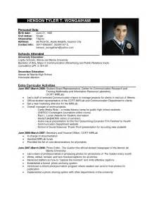 exle of resume formats resume 87 marvellous sle format outstanding free 89 marvelous creative templates