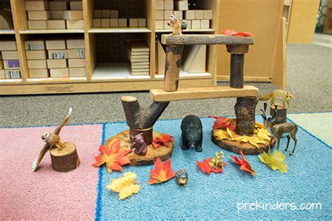 fall block center play ideas prekinders 321 | fall block center play2
