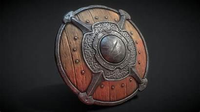 Medieval Shield Shields Mykhailov Artem Sketchfab