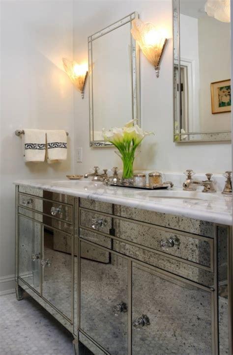 antique mirrored bathroom vanity regency