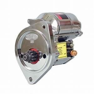 Powermaster 19505 Mustang Starter  U0026quot Xs Torque U0026quot  Chrome 429  460