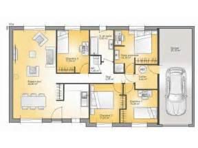 plan maison plain pied 4 chambres 1000 ideas about plan maison plain pied on