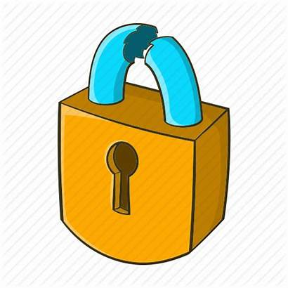 Lock Cartoon Picking Club