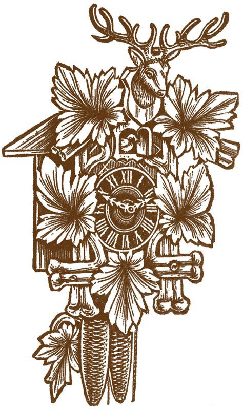 cuckoo clock pictures  graphics fairy