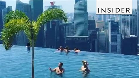 World's Largest And Highest Infinity Pool Youtube