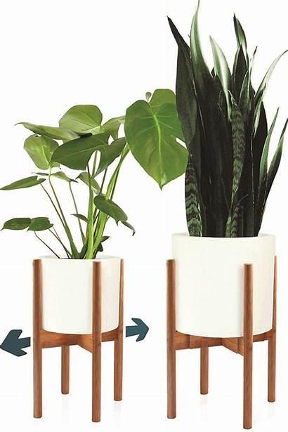 Plant Stands Indoor Stand Modern Mid Century