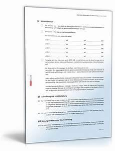 Mietvertrag muster kostenlos k ndigung mietvertrag muster for Mietvertrag werkswohnung kostenlos