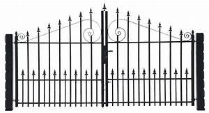 Vial Portillon Fer : portail coulissant aluminium leroy merlin portail ~ Premium-room.com Idées de Décoration