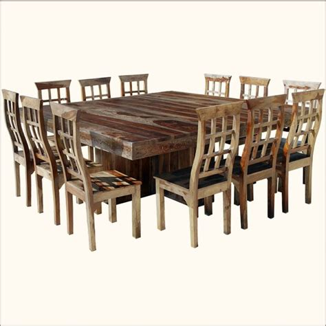 25 best ideas about large dining tables on