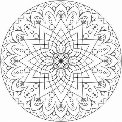 Mandala Coloring Pages Designs Cool Adults Printable