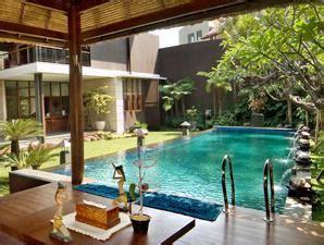 gambar kolam renang mewah  rumah model terbaru