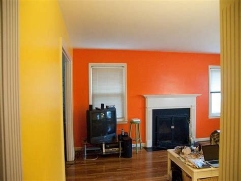 an awesome combination yellow orange paint colors