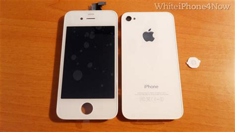 white iphone 4 white iphone 4 kit converts vanilla iphone to white