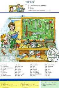 English Tools Vocabulary