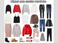 A Winter Capsule Wardrobe for College College Fashion