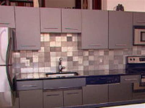 kitchen backsplash sheets how to creating an eco metal backsplash hgtv
