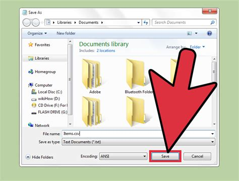 How To Create A Csv File 12 Steps (with Pictures) Wikihow