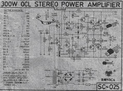 indonesia s legendary diy power lifier 150w ocl lifier audiobbm let s do it