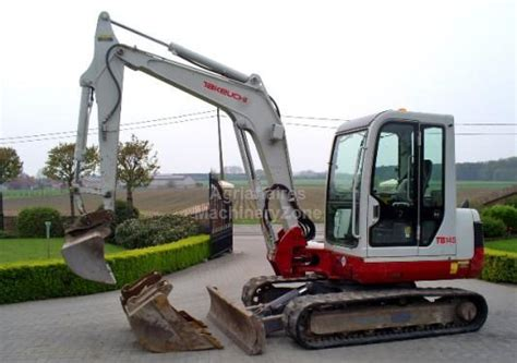 takeuchi tb mini excavator  belgium  sale  truck id