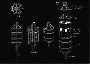 A Schematic Drawing Of The Time Capsule