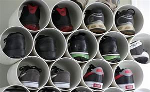 Idee Rangement Chaussure : rangement des chaussures 5 id es d 39 objets d tourn s pour les ranger ~ Teatrodelosmanantiales.com Idées de Décoration
