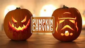 Pumpkin, Carving, -, Happy, Halloween
