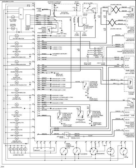 Volvo Instrument Cluster Wiring Diagram All