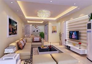 Simple false ceiling designs for living room this for all for Simple false ceiling design for living room