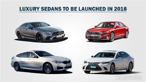 India-bound Luxury Sedans In 2018