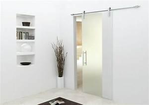 la porte coulissante pour la salle de bain archzinefr With porte de douche coulissante avec meuble salle de bain bois scandinave