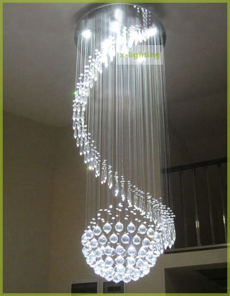 Led Light For Chandelier by 180cm Spiral Led K9 Ceiling Light Pendant