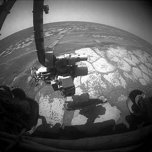 Mars Rover Opportunity Update: Opportunity Spies Outcrop ...