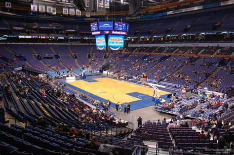 enterprise center section  basketball seating rateyourseatscom