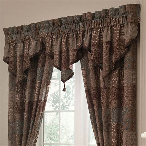 penneys drapes croscill classics brown 2 pack curtain panels