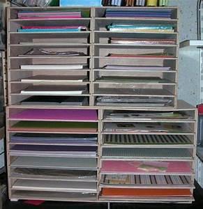 Meuble Pour Ranger Papier : rangement scrap passion patch ~ Teatrodelosmanantiales.com Idées de Décoration