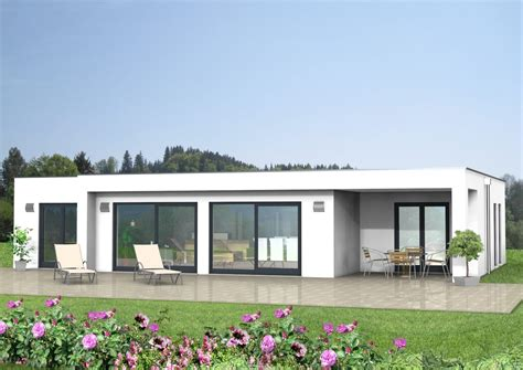 flachdach bungalow duesseldorf schluesselfertig massiv