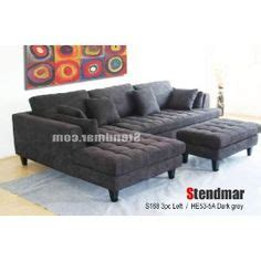 Stendmar Sectional Sofa by Rhino Suede 3 Pieces Microfiber Sectional Sofa With Chaise