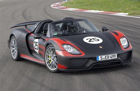 Porsche 918 Spyder Revised Specs And Tech Revealed