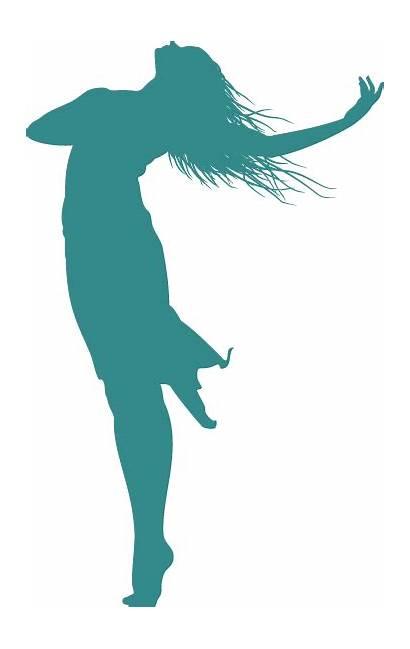 Silhouette Woman Praise Dance Clipart Dancer God