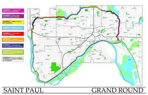 minneapolis grand rounds saint paul grand  twin