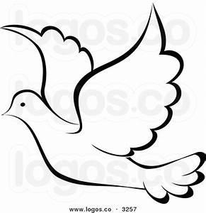 Dove Clipart Black And White | Clipart Panda - Free ...