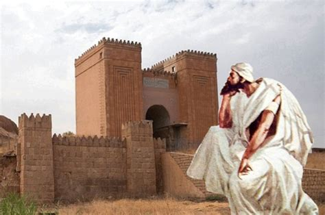biblical jonah visits nineveh  evil city ancient pages