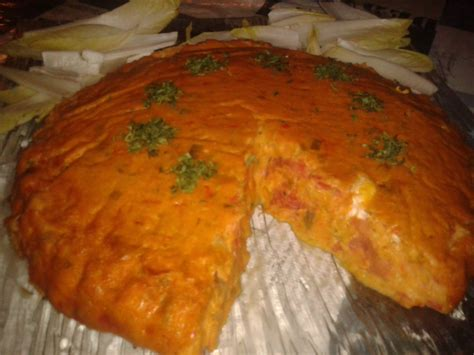 recette cuisine companion clafoutis poivrons chèvre frais sandrac recette
