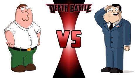 Peter Griffin Vs Stan Smith By Willdynamo55