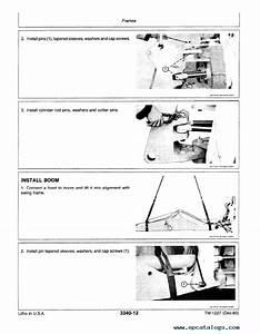 John Deere 444c Loader Tm1227 Technical Manual Pdf